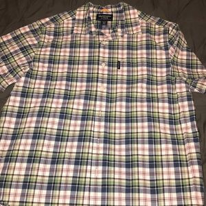 Men's A&F XL plaid button down shirt